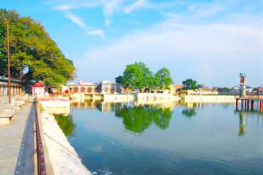 Vasudev Temple & Tulsi park